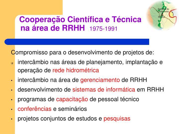 Cooperação Científica e Técnica