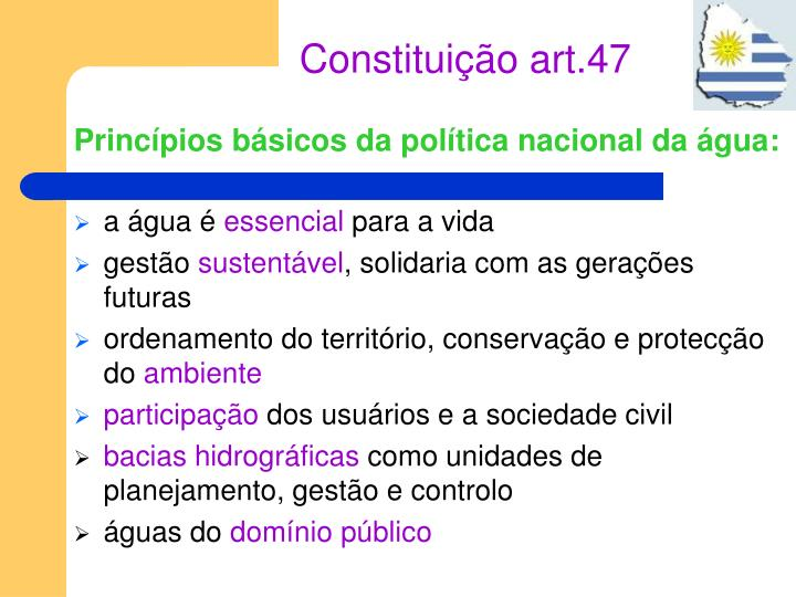 Constituição art.47