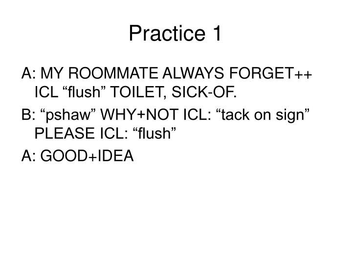 Practice 1