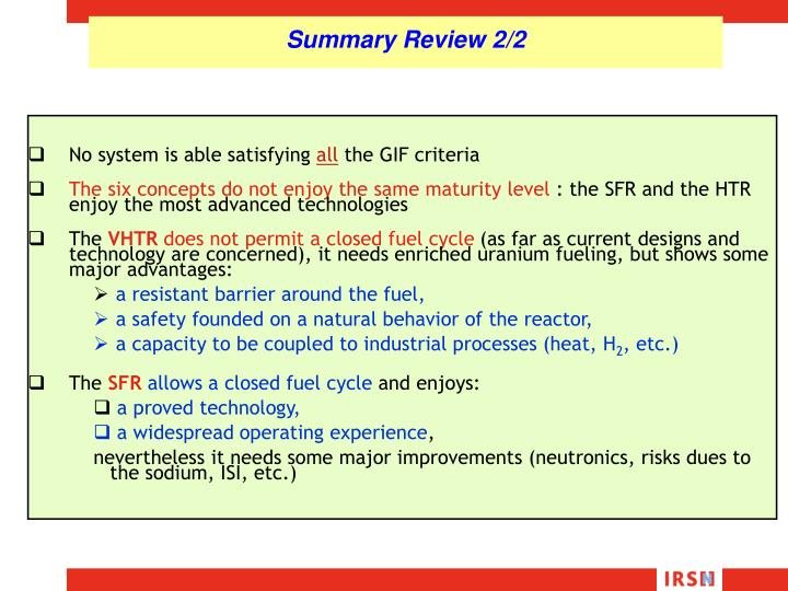 Summary Review 2/2