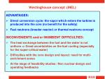 westinghouse concept inel1