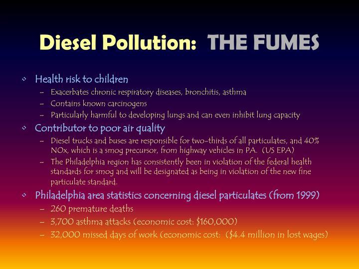 Diesel Pollution: