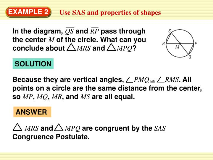 Because they are vertical angles,