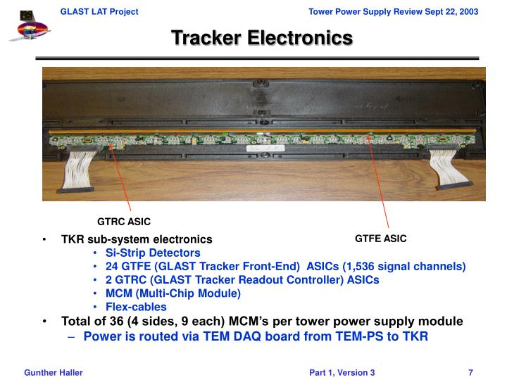 Tracker Electronics