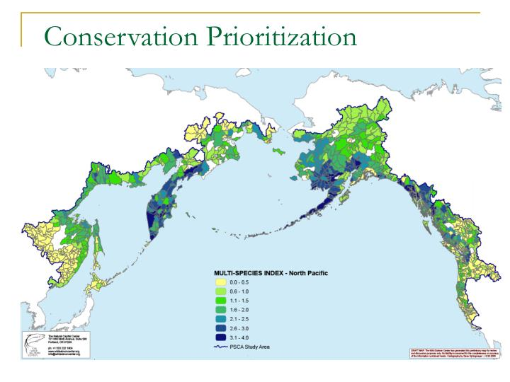 Conservation Prioritization