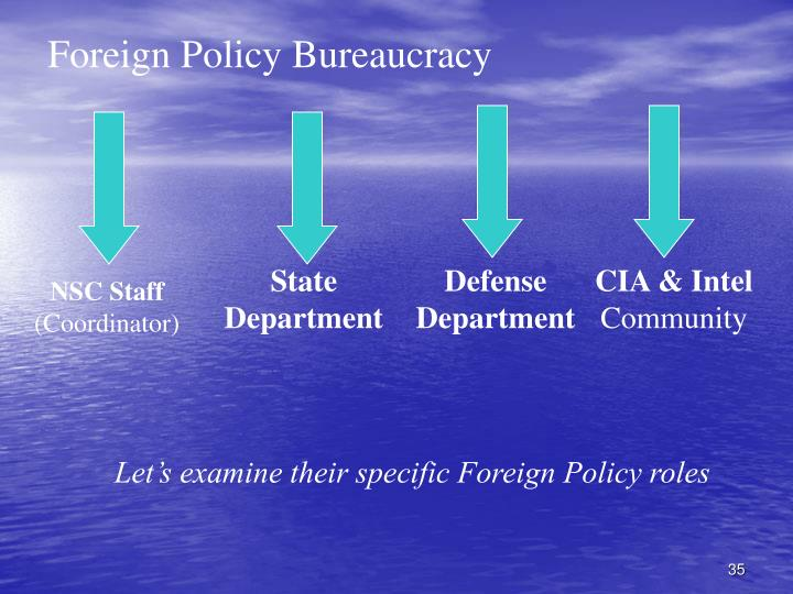 Foreign Policy Bureaucracy