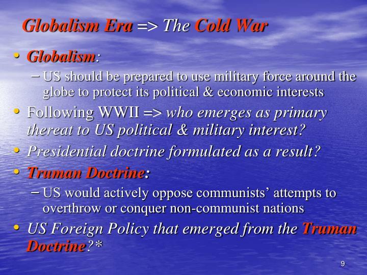 Globalism Era