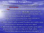 public opinion foreign policy