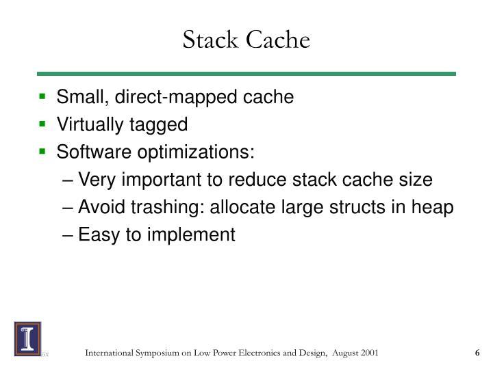 Stack Cache