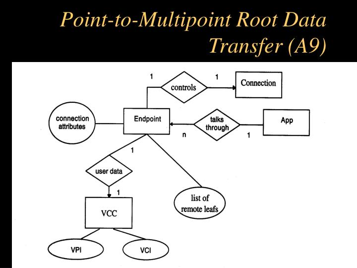 Point-to-Multipoint Root Data Transfer (A9)