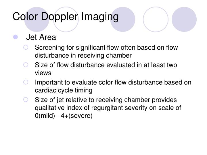 Color Doppler Imaging
