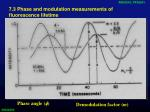 7 3 phase and modulation measurements of fluorescence lifetime