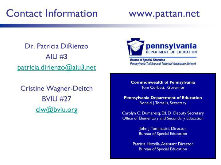 Dr. Patricia DiRienzo