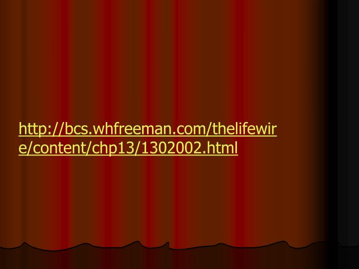 http://bcs.whfreeman.com/thelifewire/content/chp13/1302002.html