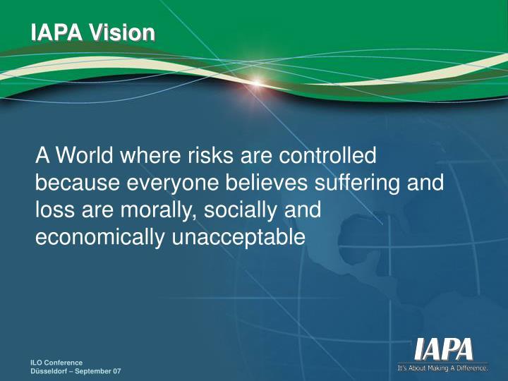 IAPA Vision