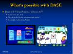 what s possible with dase3