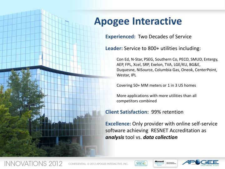 Apogee Interactive