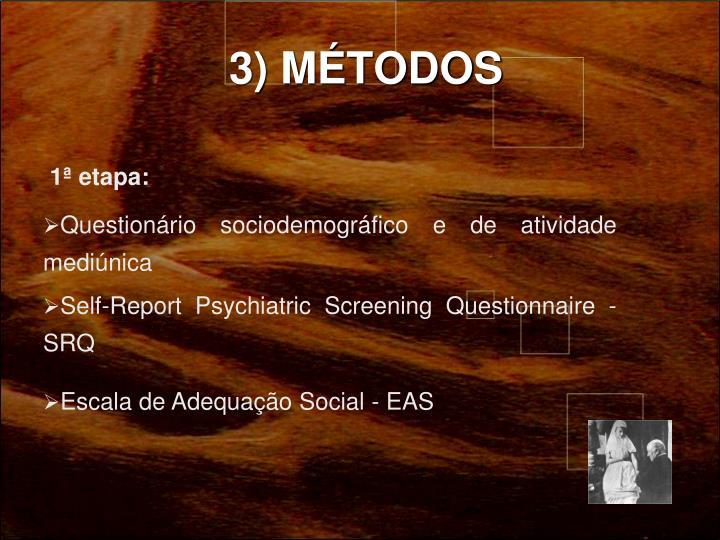 3) MÉTODOS