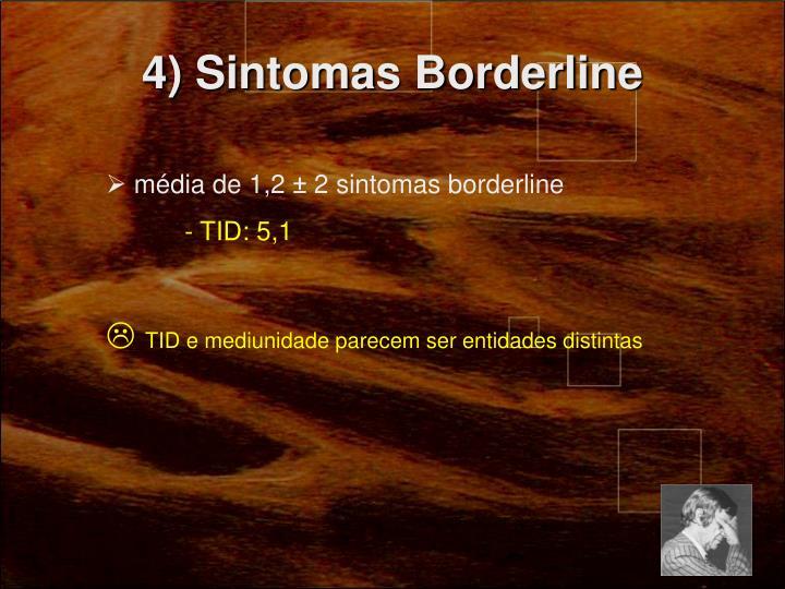 4) Sintomas Borderline