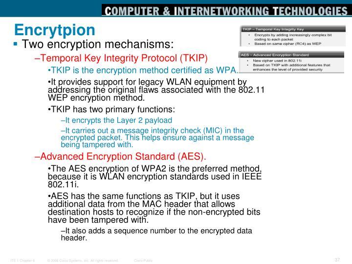 Encrytpion