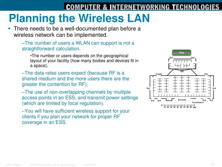 Planning the Wireless LAN