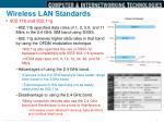 wireless lan standards2