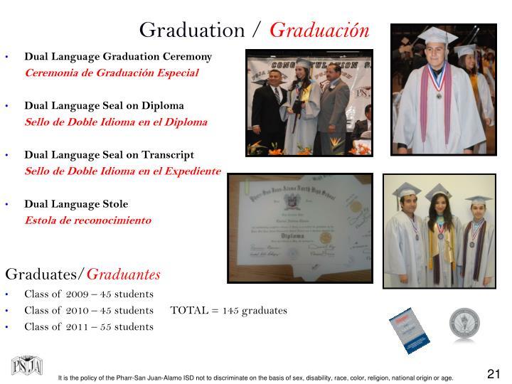 Graduation /