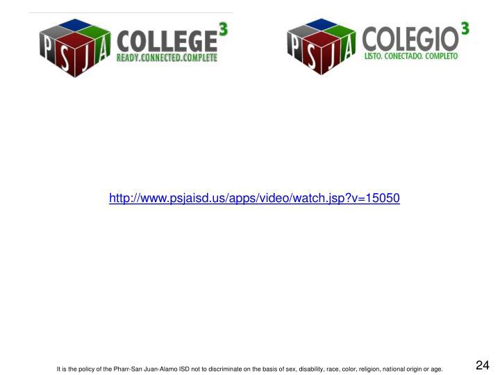 http://www.psjaisd.us/apps/video/watch.jsp?v=15050