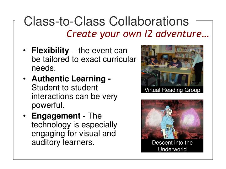Class-to-Class Collaborations