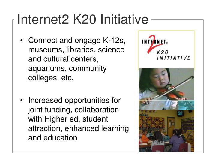 Internet2 K20 Initiative