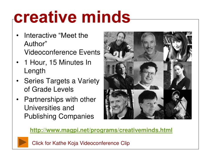 "Interactive ""Meet the Author"" Videoconference Events"