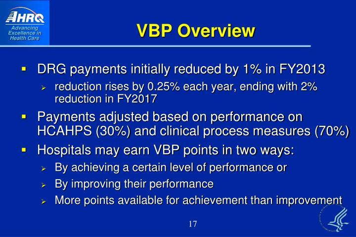 VBP Overview