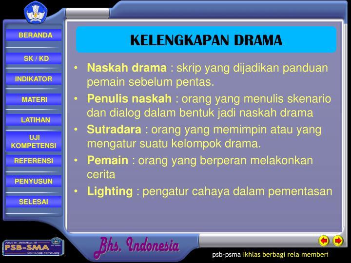 Naskah drama