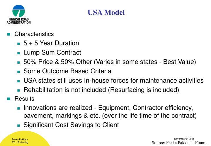 USA Model