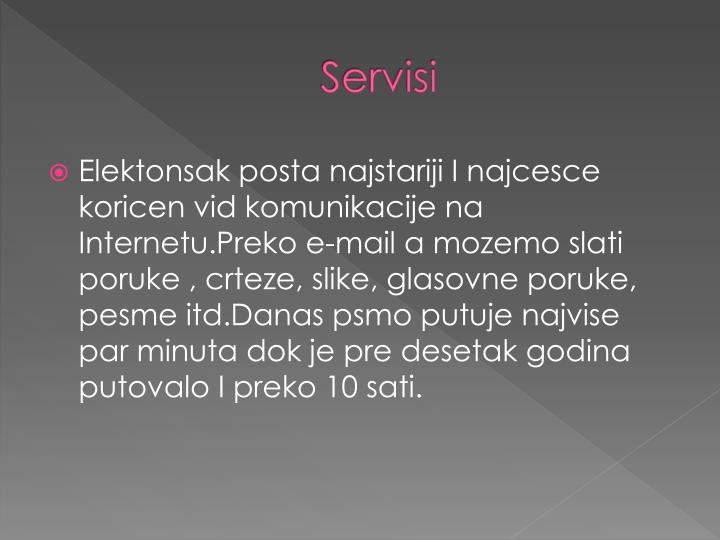 Servisi