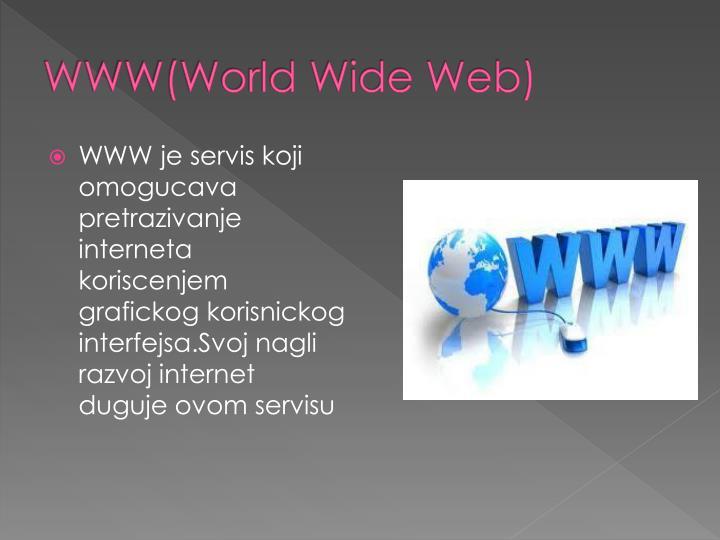 WWW(World Wide Web)