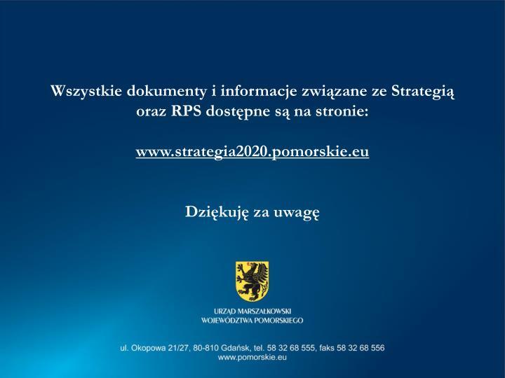 Wszystkie dokumenty i informacje związane ze Strategią