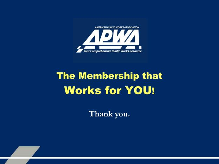 The Membership that