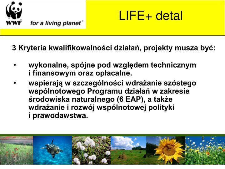 LIFE+ detal