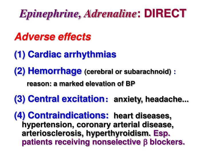 Epinephrine,