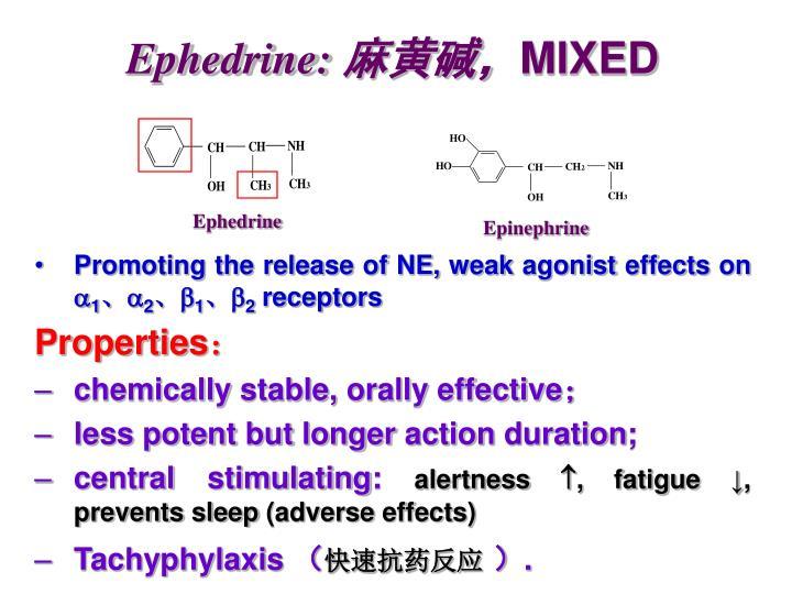 Ephedrine: