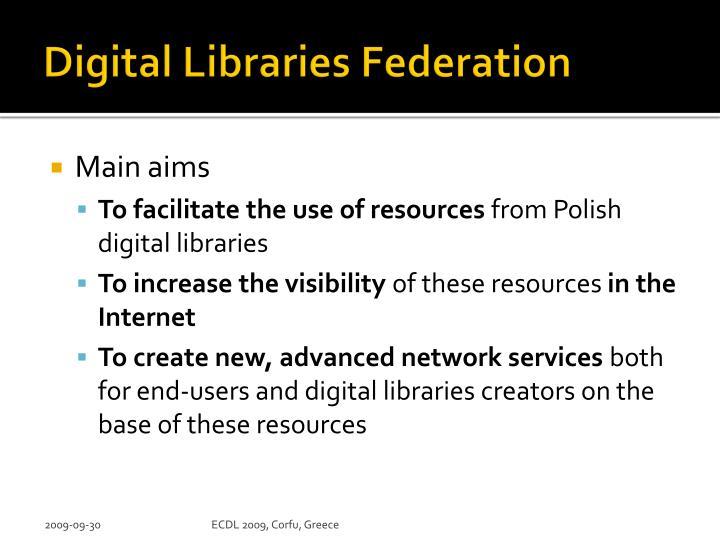 Digital Libraries Federation