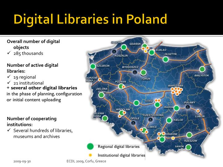 Digital Libraries in Poland