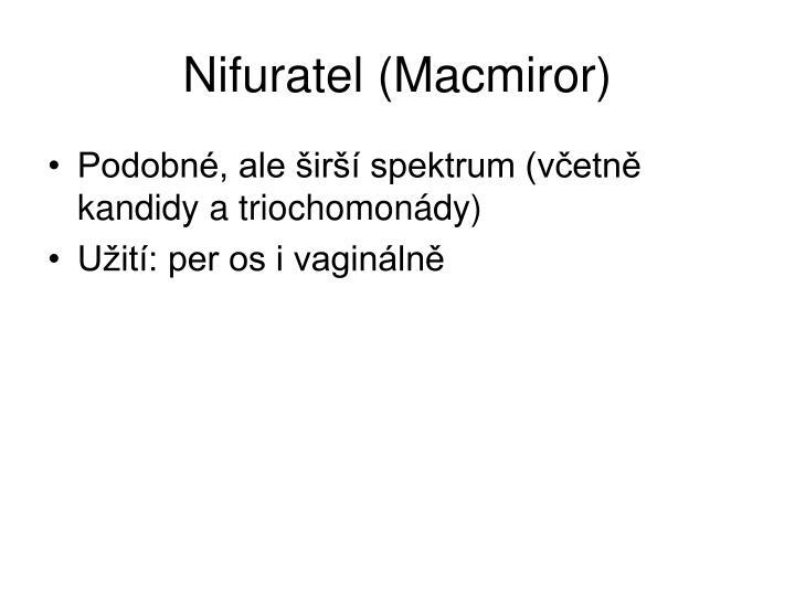 Nifuratel (Macmiror)