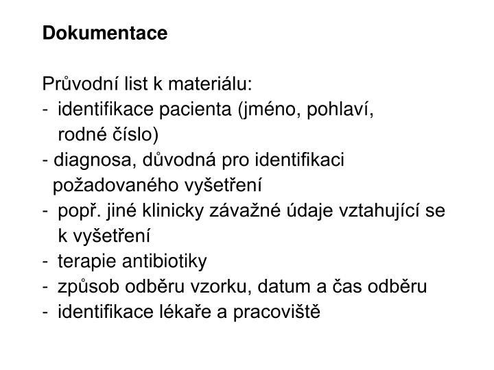Dokumentace
