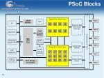 psoc blocks