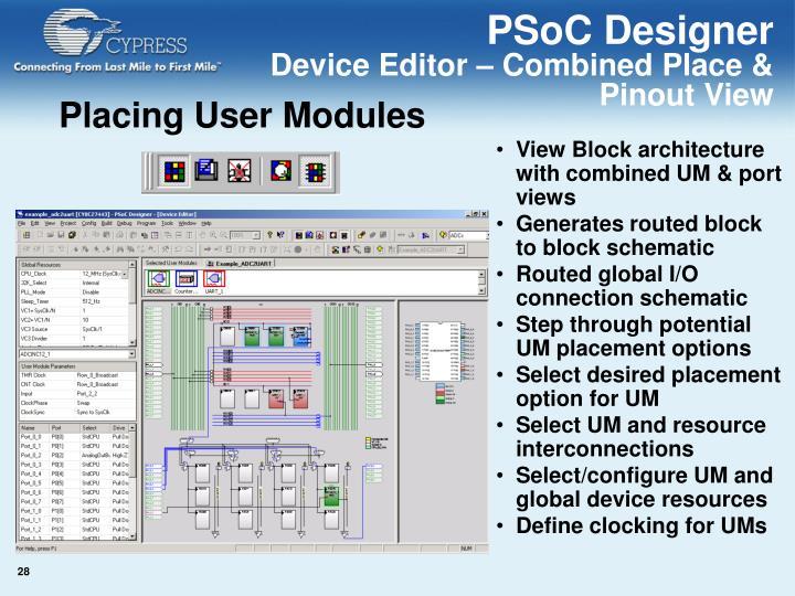 PSoC Designer