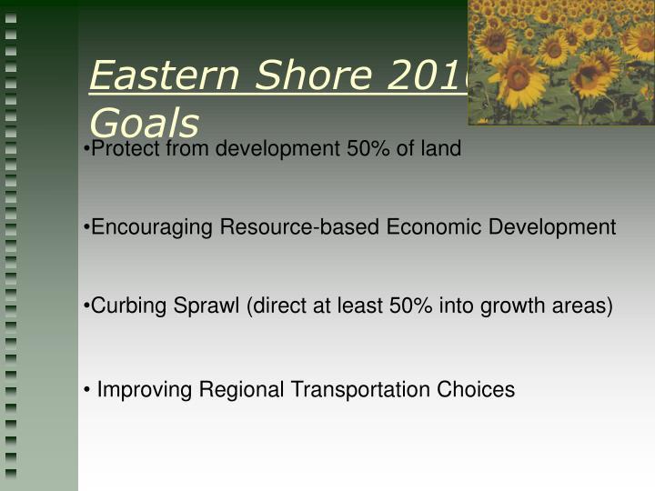 Eastern Shore 2010: