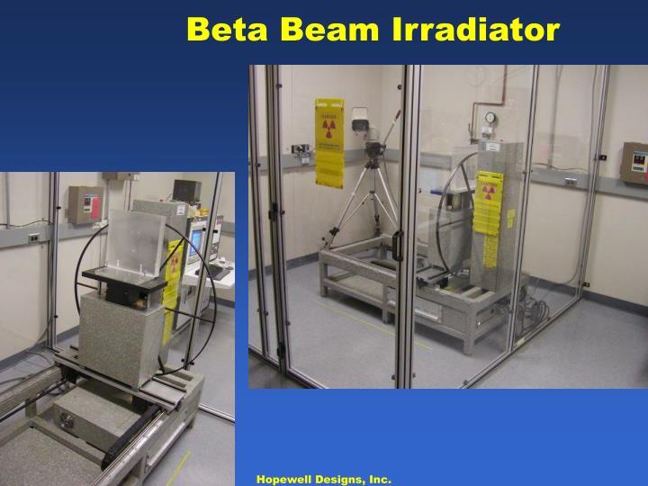 Beta Beam Irradiator