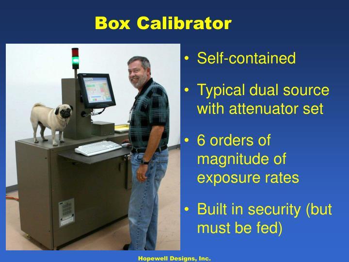 Box Calibrator